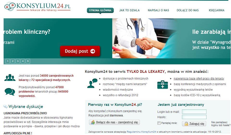 konsylium24 - strona tylko dla lekarzy