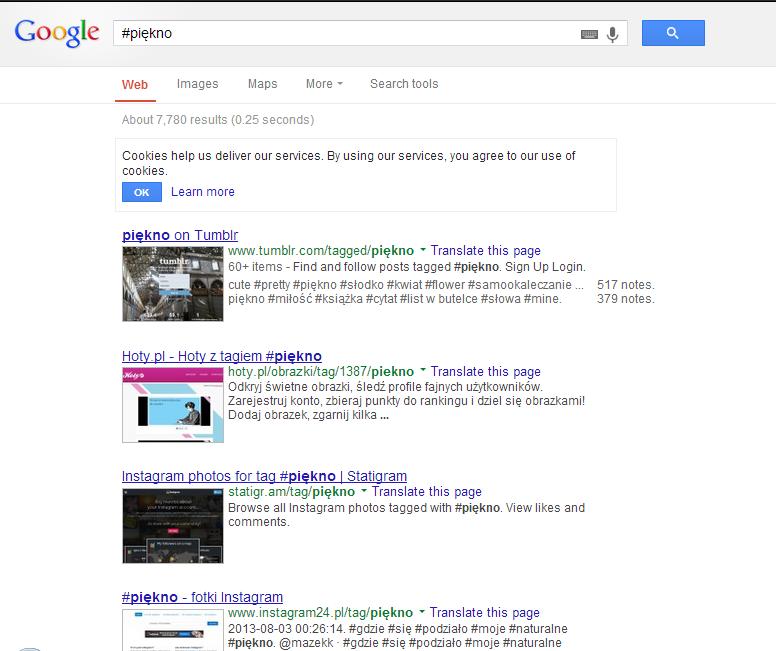 #piękno - Szukaj w Google