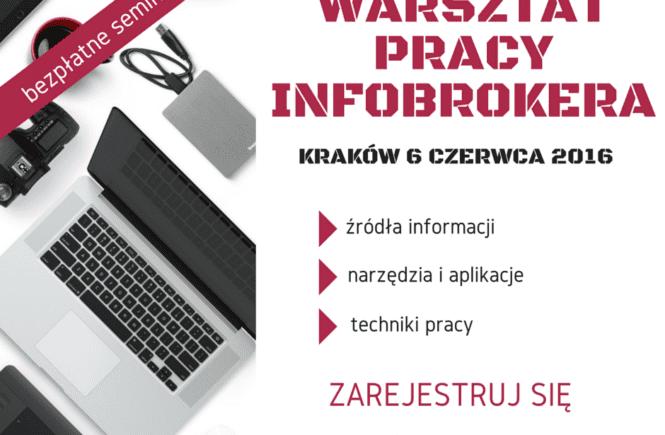 WARSZTAT PRACY INFOBROKERA_fb post